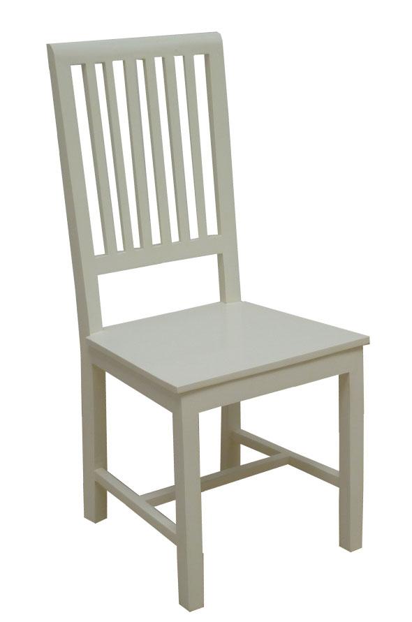 כסא אוכל קלאסי מעץ מהגוני