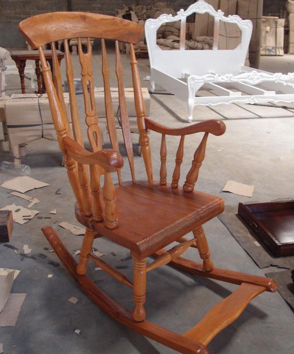 מודרני כסא נדנדה מעץ מלא | כסאות נדנדה | כסאות בהתאמה אישית CV-81