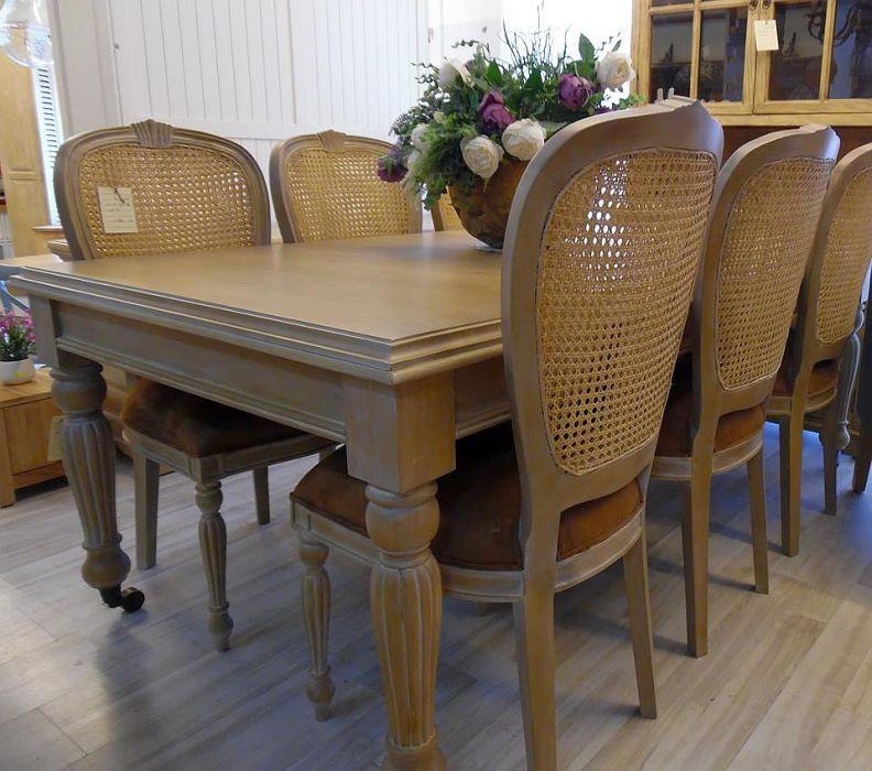מתוחכם פינת אוכל מעץ מלא   רהיטי עץ מלא LO-15