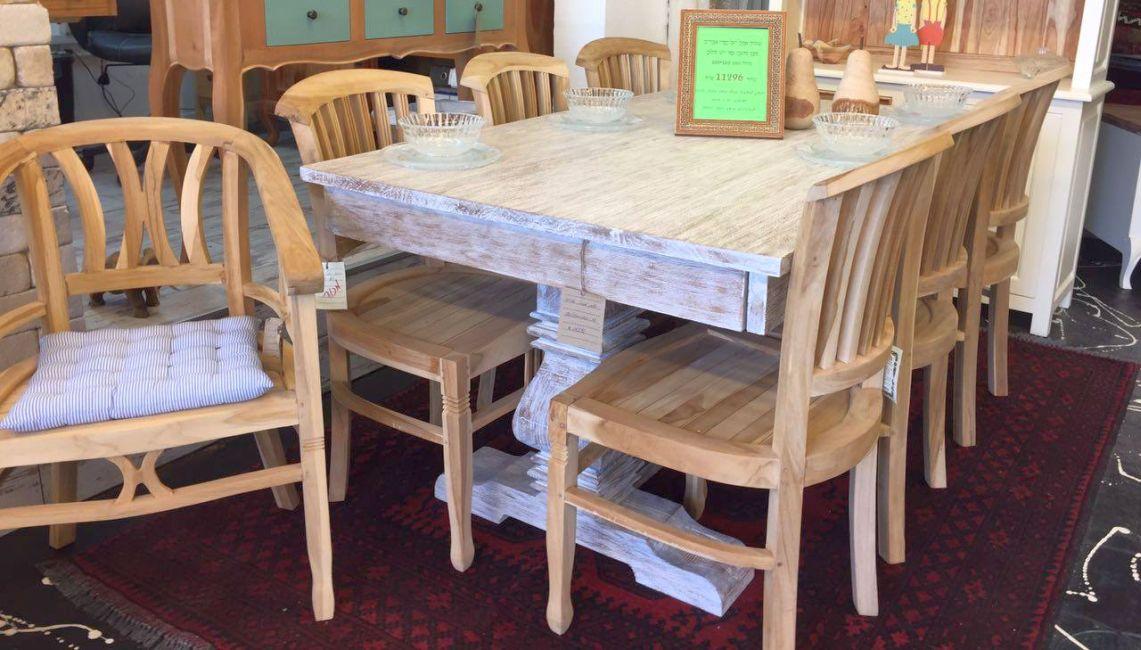 כסאות עץ מלא לפינת אוכל