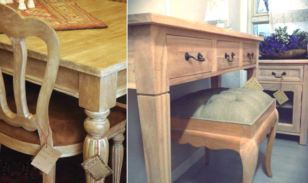 רהיטי עץ בהתאמה אישית
