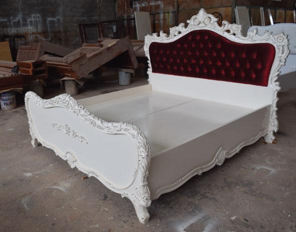 הוראות חדשות מיטה יהודית מעץ מלא | מיטות מעוצבות | מיטה בהתאמה אישית IZ-42