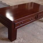 שולחן קפה קלאסי מעץ