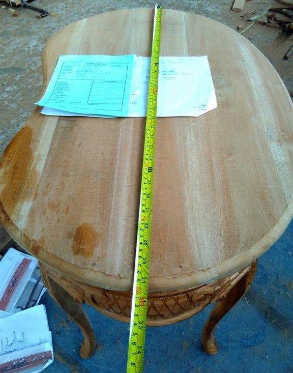 ייצור שולחן עץ מלא בהזמנה אישית