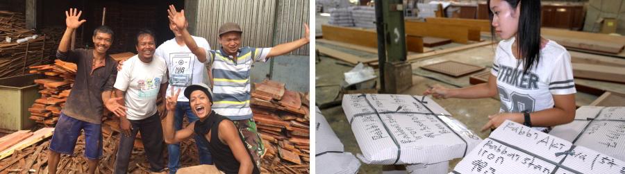 ייצור רהיטים באינדונזיה