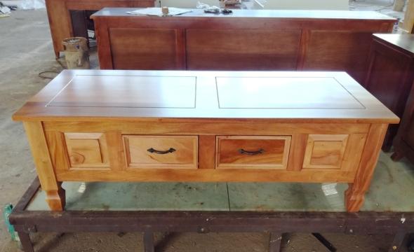 שולחן סלון כפרי