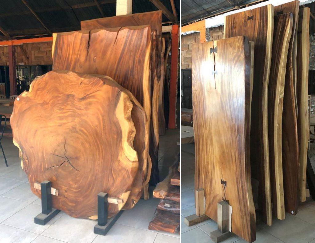 רהיטי עץ טיק