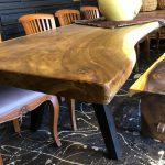 שולחן עץ מלא לפינת אוכל
