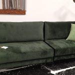 ספה עם ריפוד קטיפה